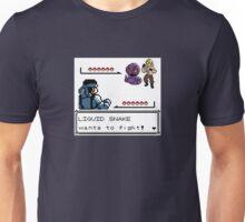 Metal Gear Pokemon - Liquid Snake Unisex T-Shirt