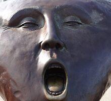The Scream - El Grito by Bernhard Matejka