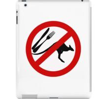 Don't eat Kangaroos iPad Case/Skin