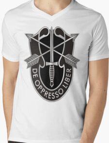 de oppresso liber Mens V-Neck T-Shirt