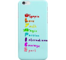 Olympic T-shirt iPhone Case/Skin