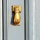 Golden door knob by shelfpublisher