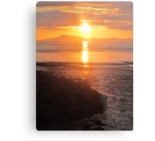 A Donegal Sunset 1, July 2012 Metal Print