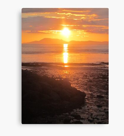 A Donegal Sunset 1, July 2012 Canvas Print