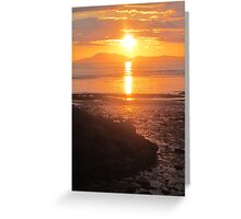 A Donegal Sunset 1, July 2012 Greeting Card