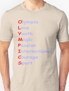 Olympics 2 Unisex T-Shirt