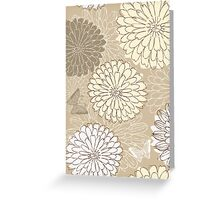 Floral Card Greeting Card