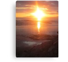 Donegal Sunset, Spiritual Fire, July 2012 Canvas Print