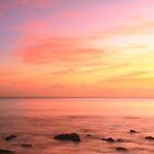Caribbean Sunset Sky St. Lucia by Roupen  Baker