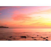 Caribbean Sunset Sky St. Lucia Photographic Print