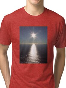 Sea Sunset  Tri-blend T-Shirt