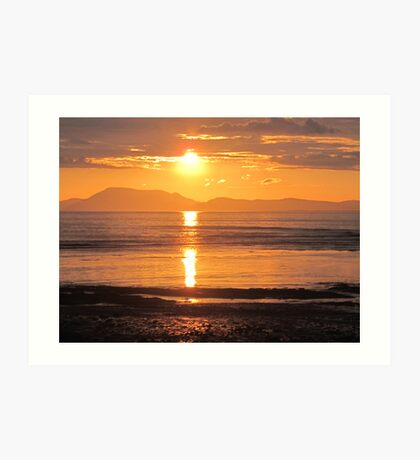Donegal Sunset 3 Art Print