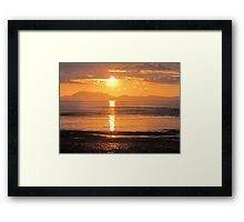 Donegal Sunset 3 Framed Print