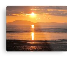 Donegal Sunset 3 Metal Print