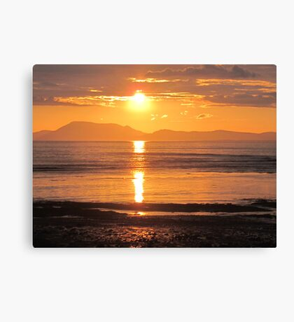 Donegal Sunset 3 Canvas Print