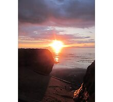 Hidden Star, Donegal Sunset, July 2012 Photographic Print
