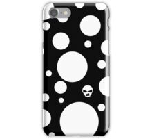 Black Mushroom Design iPhone Case/Skin