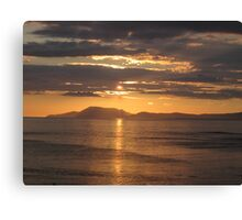 Donegal Sunset 5, July 2012 Canvas Print