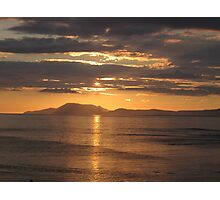 Donegal Sunset 5, July 2012 Photographic Print