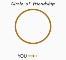 circle of friendship by ludlowghostwalk