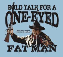 """One Eyed Fat Man"" One Piece - Short Sleeve"