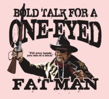 """One Eyed Fat Man"" One Piece - Long Sleeve"