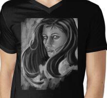 Beauty Mens V-Neck T-Shirt