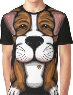 Puppy Cartoon Dog  Graphic T-Shirt