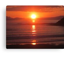 Donegal Sunset 6, July 2012 Canvas Print