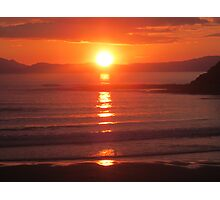 Donegal Sunset 6, July 2012 Photographic Print