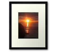 Donegal Sunset 8 Framed Print