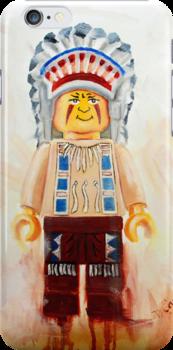 lego Big Chief by Deborah Cauchi