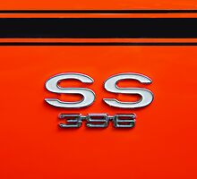 Chevy Super Sport 396 by woodnimages