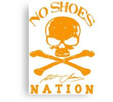 No Shoes Nation Kenny Chesney RBB02 Canvas Print
