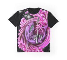 Pink Whirlpool Shark  Graphic T-Shirt
