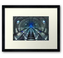Galactic Quest Framed Print
