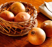 Onions by Karen Thorburn
