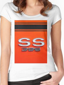 Chevy Super Sport 396 Women's Fitted Scoop T-Shirt