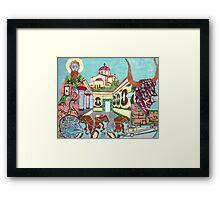 Memories of Crete Framed Print