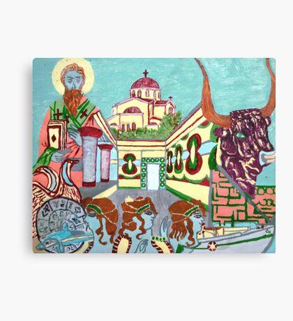 Memories of Crete Canvas Print