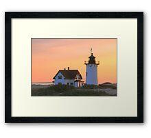 Race Point Light Framed Print