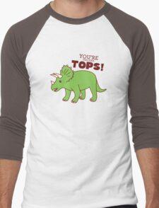 You're Tricera-TOPS! Men's Baseball ¾ T-Shirt