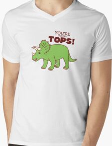 You're Tricera-TOPS! Mens V-Neck T-Shirt