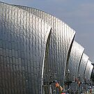 The Thames Barrier by cherryamber