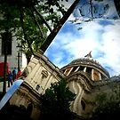 Reflecting St Pauls by cherryamber