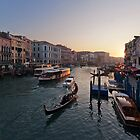Grand Canal at Sunset by Mike Church