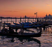 Venetian Sunset by Mike Church