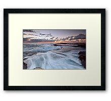 Distant Fishermen - Little Bay, NSW Framed Print