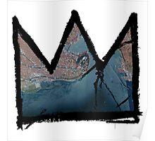 "Basquiat ""King of Istanbul Turkey"" Poster"