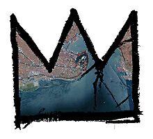 "Basquiat ""King of Istanbul Turkey"" Photographic Print"
